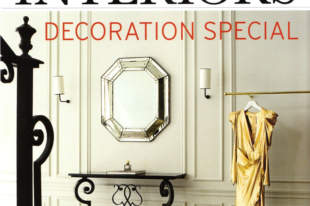 The World of Interiors, Octobre 2010 «Chic to chic» – Gilbert Poillerat