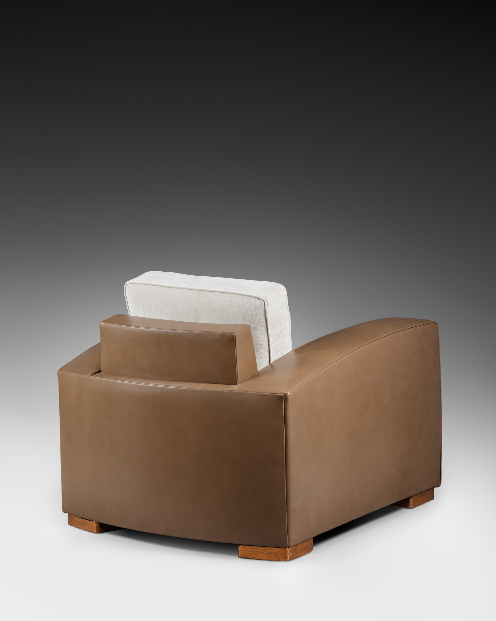 Rare pair of armchairs, vue 03