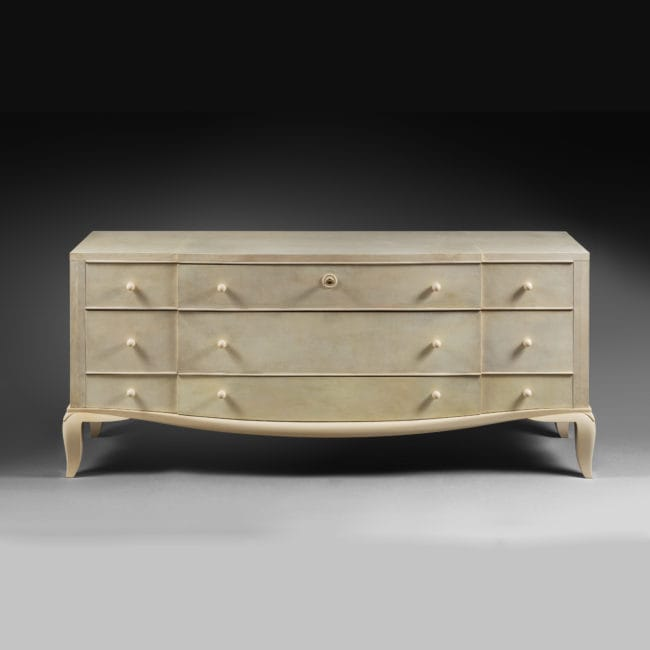 Rare 'pantalonniere' chest of drawers