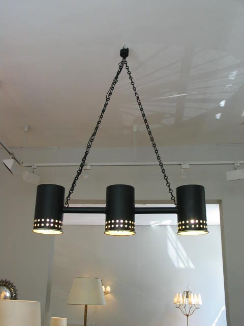 'Tonneaux' ceiling light, vue 01