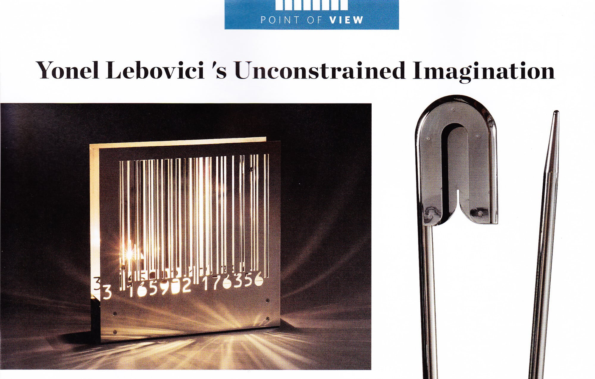 "Modern, Summer 2015 ""Yonel Lebovici's unconstrained Imagination"" – Yonel Lebovici"