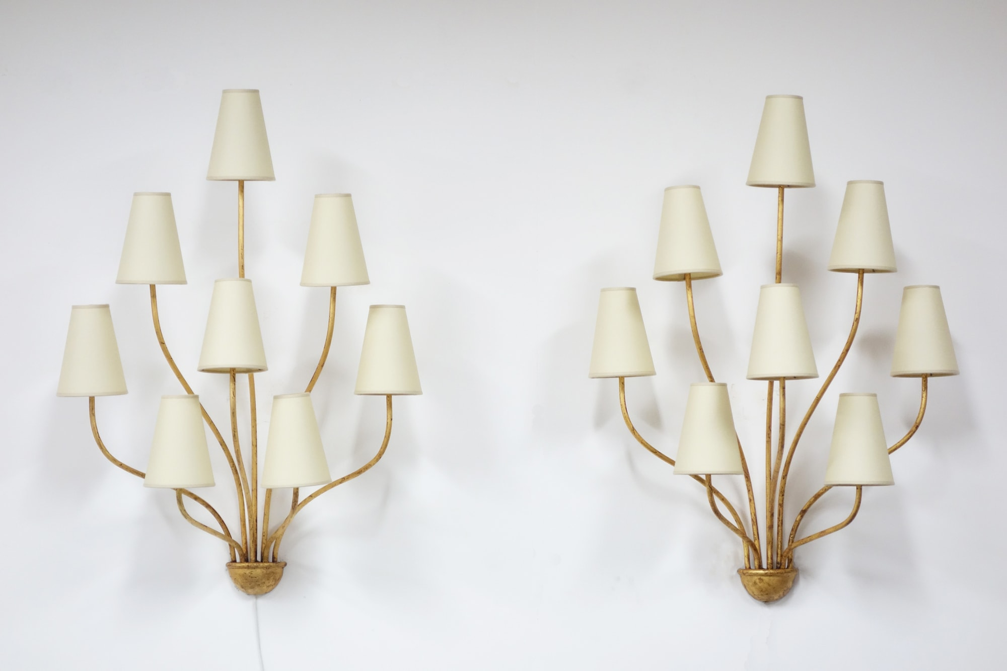 Pair of 'Persane' wall-lights, vue 01