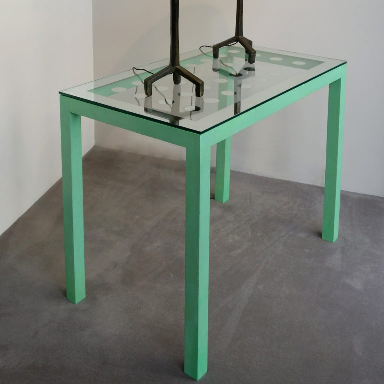 Max Ingrand, console table, c. 1930