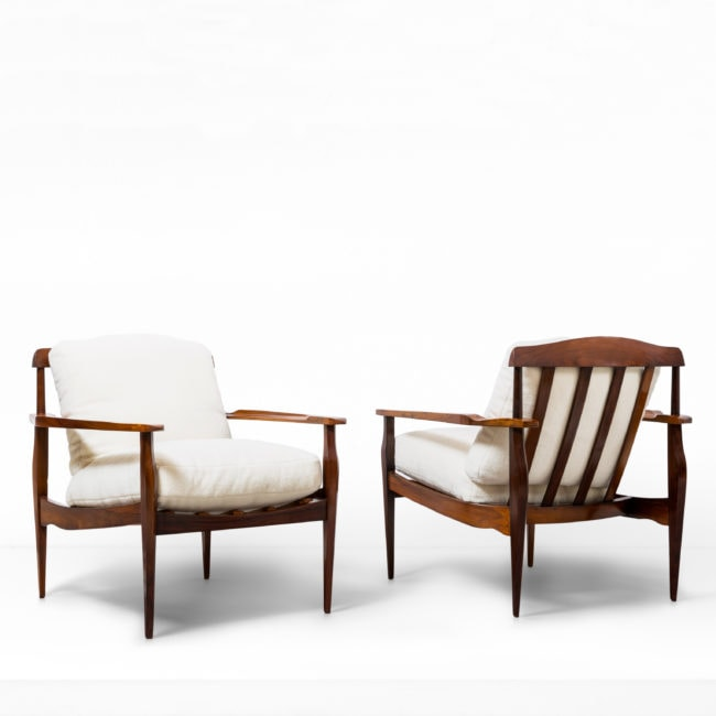 Joaquim Tenreiro, pair of armchairs