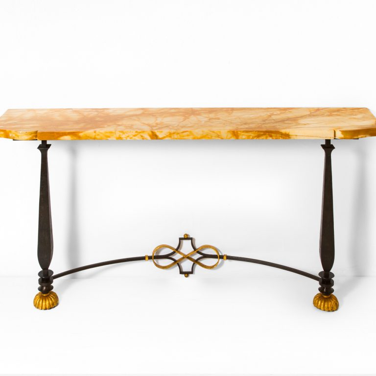Gilbert Poillerat, Console table