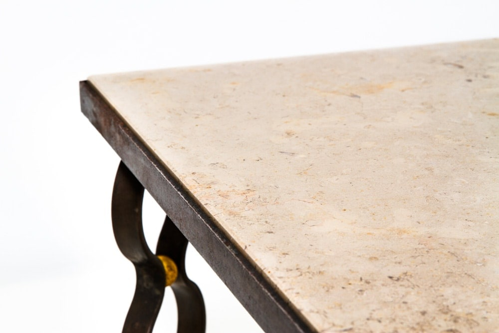Jean Royere, Table basse « ruban », vue 03