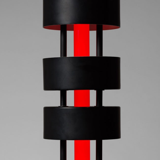 "Serge Mouille, ""Grand Totem"" floor lamp (sold)"