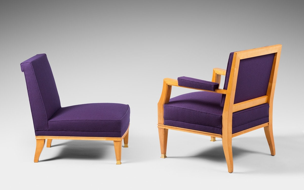 Jacques Quinet, Living room set, vue 01