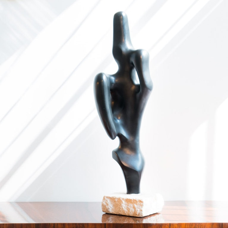 Georges Jouve, Exceptional and rare ceramic sculpture (sold)