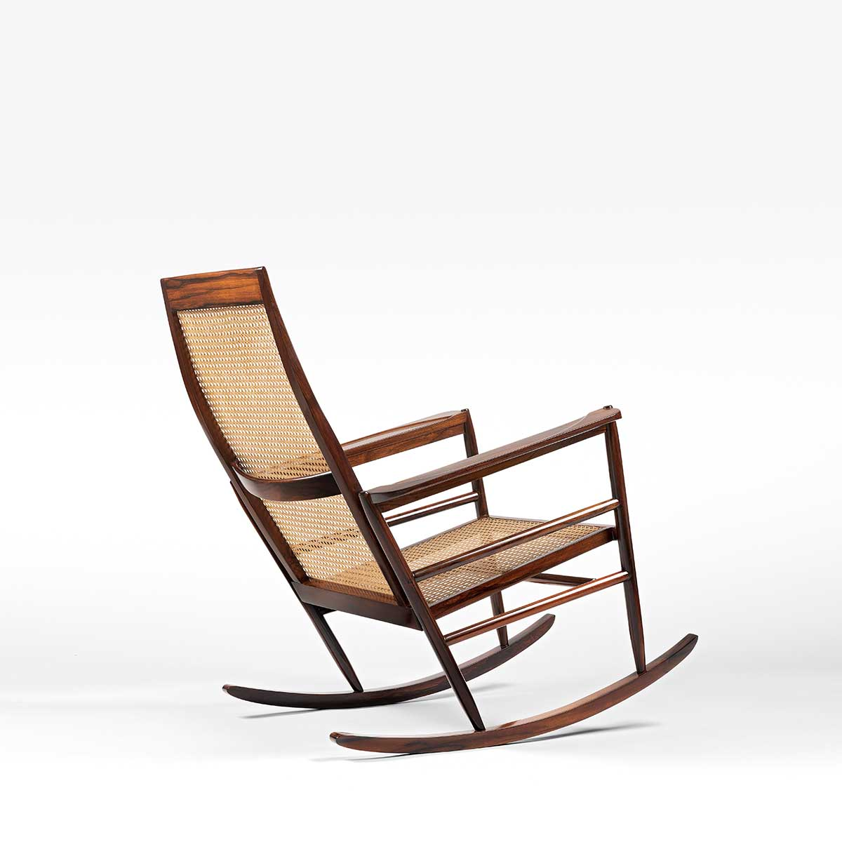 Joaquim Tenreiro, Rocking Chair, vue 02