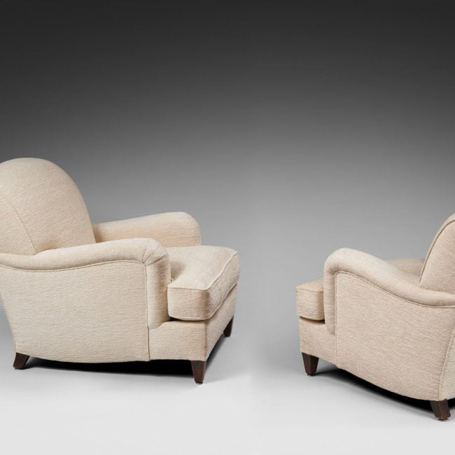 Jean-Michel Frank, Pair of armchairs