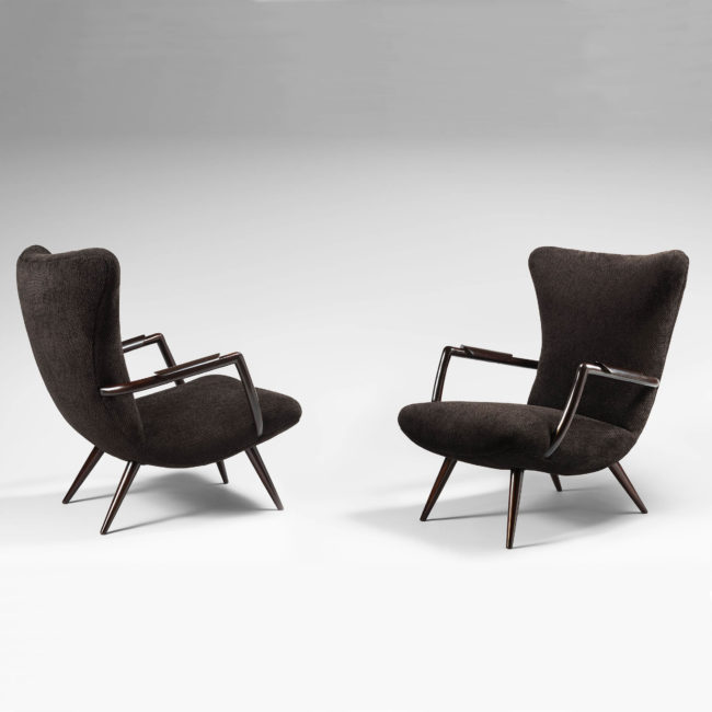Giuseppe Scapinelli, pair of armchairs