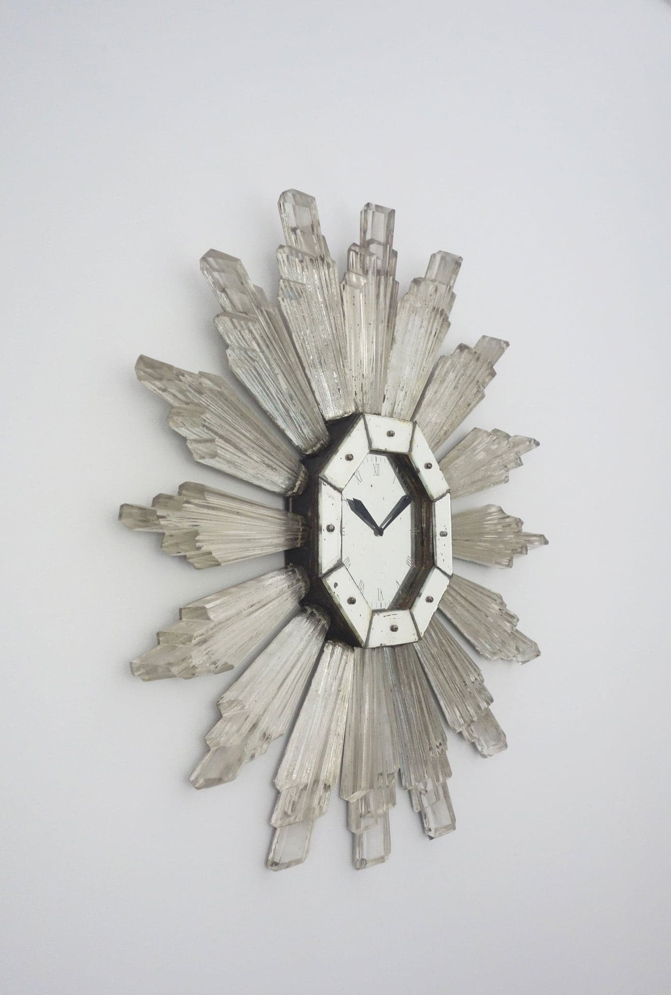Serge Roche, Very rare wall clock (sold), vue 03
