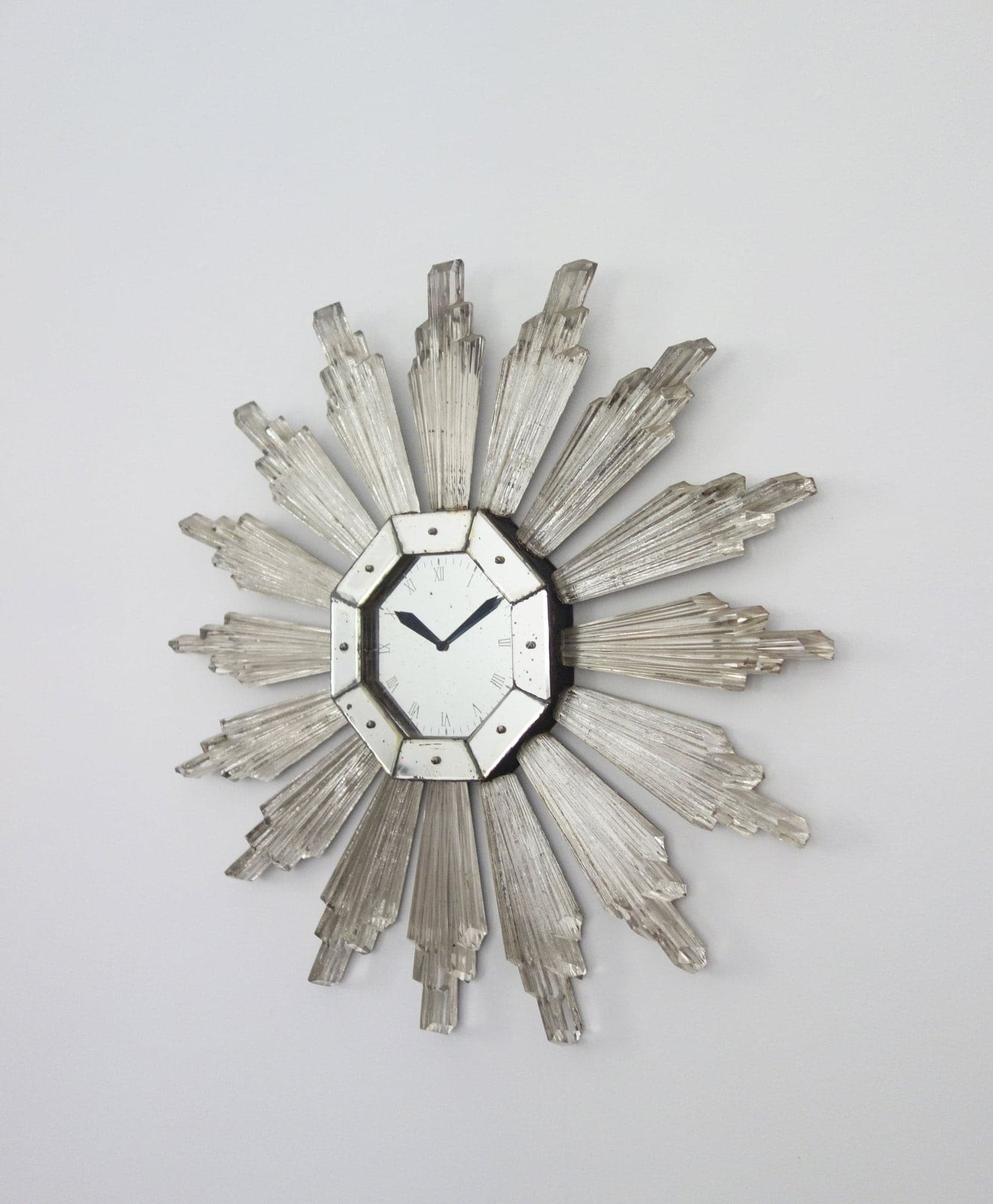 Serge Roche, Very rare wall clock (sold), vue 02
