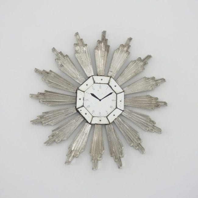 Serge Roche, Very rare wall clock (sold)