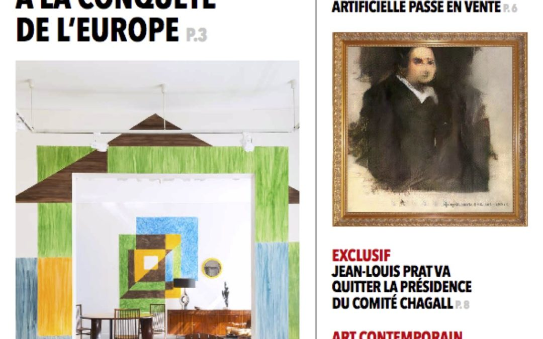 The art newspaper daily – Le design brésilien à la conquête de l'Europe – Octobre 2018