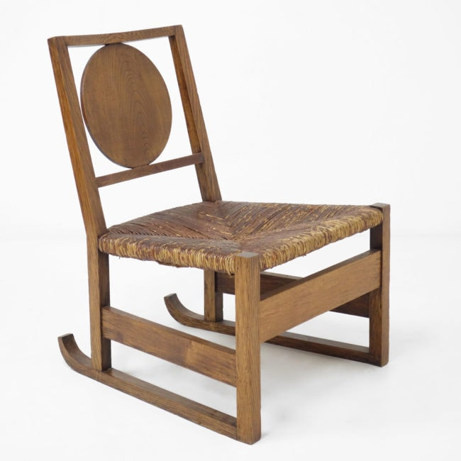 "Victor Courtray, ""Sledge"" chair"