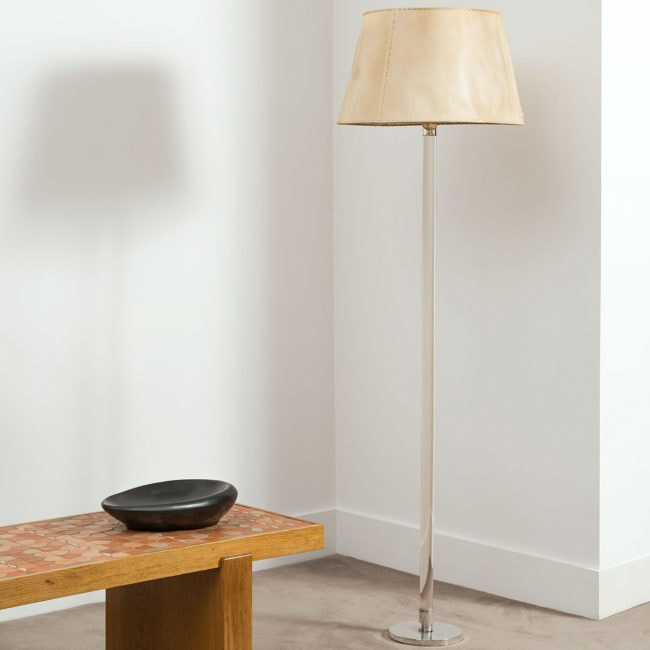 Jean-Michel Frank, Rare floor lamp (sold)