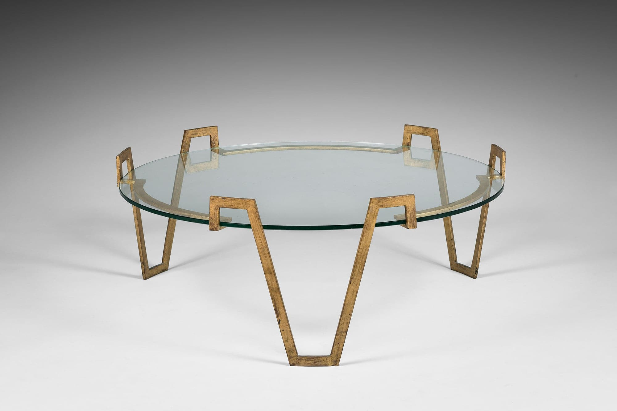 """Jean Royère, """"Val d'or"""" low table (sold), vue 02"""