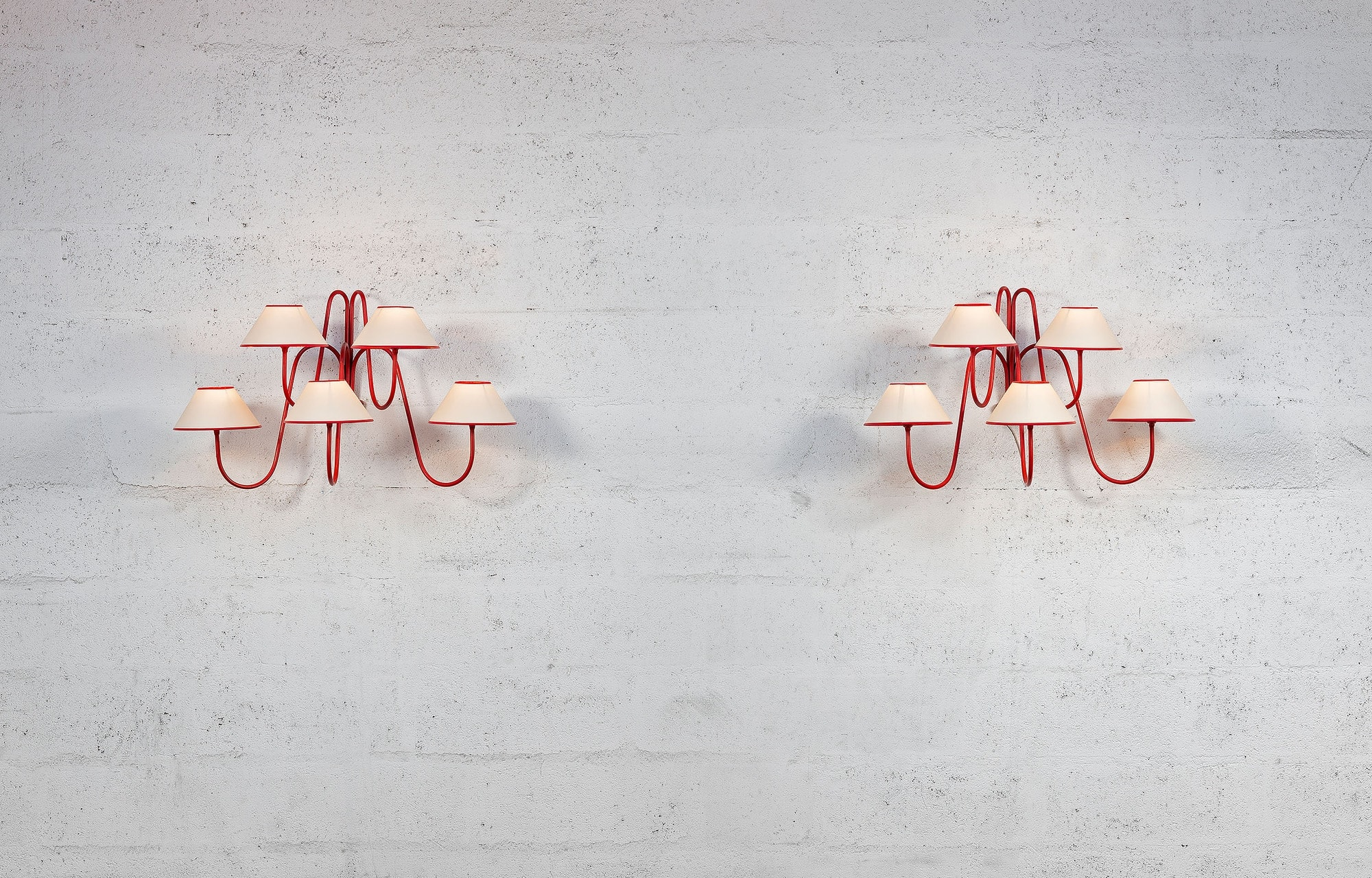 Jean Royère, Pair of 'Bouquet' wall-lights (sold), vue 01