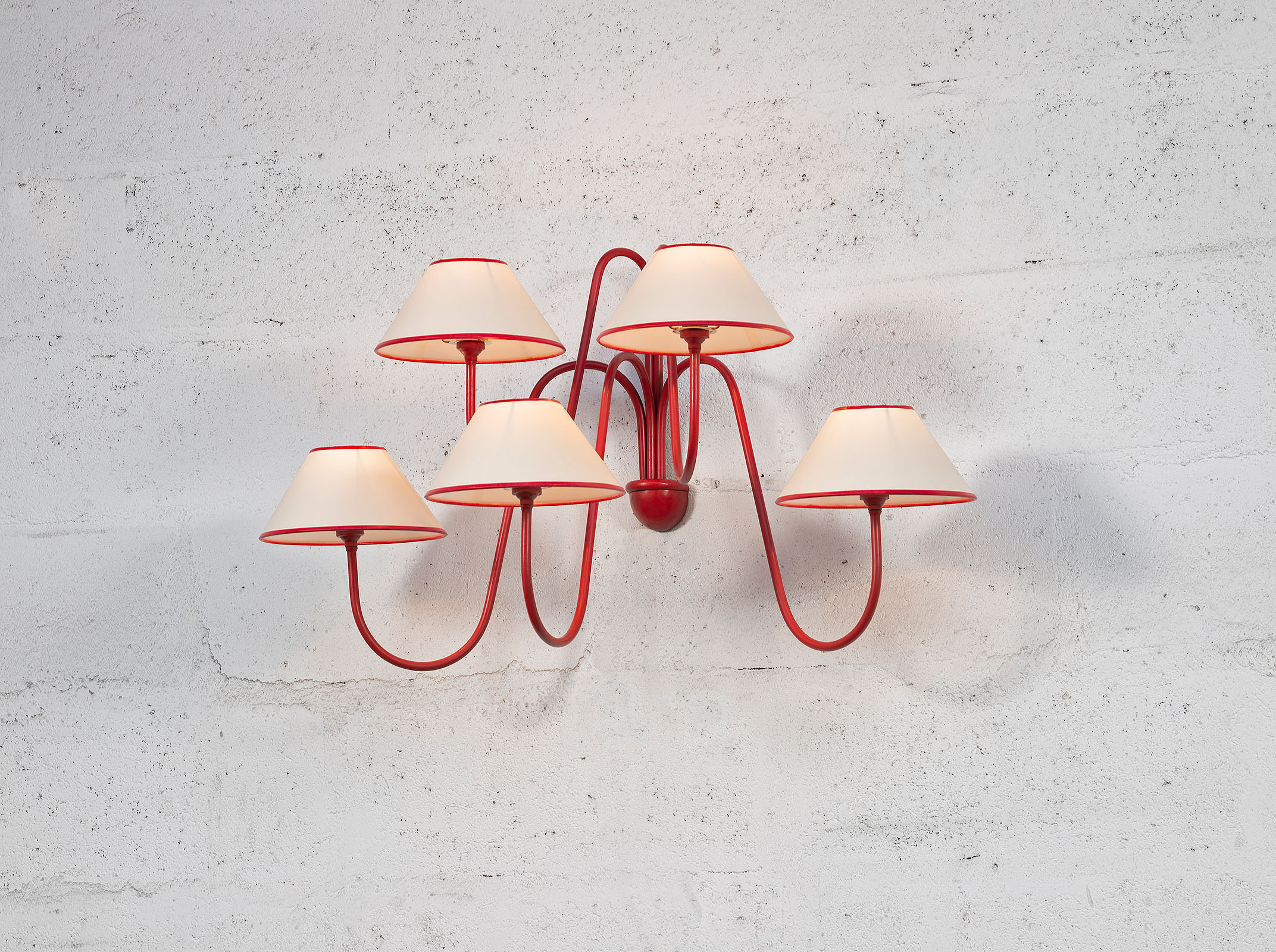 Jean Royère, Pair of 'Bouquet' wall-lights (sold), vue 02