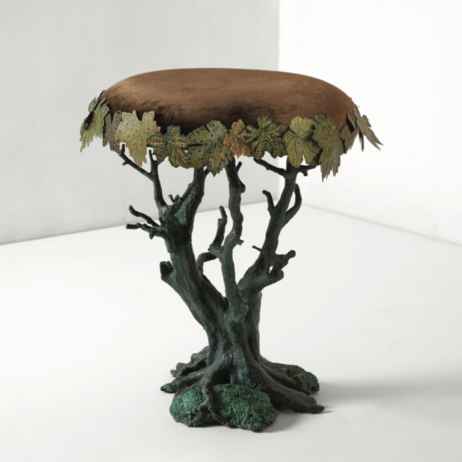 Joy de Rohan Chabot, «Bonsaï sycomore» stool