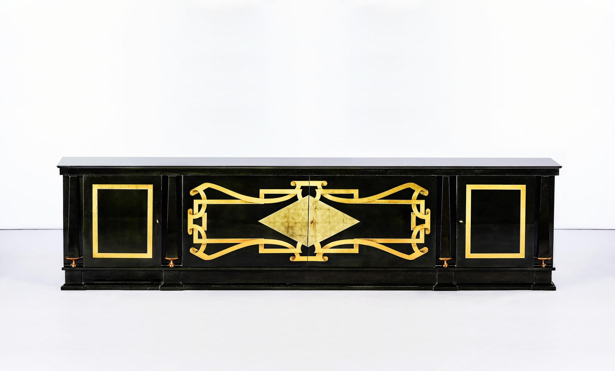 André Arbus, Rare and important sideboard, vue 01