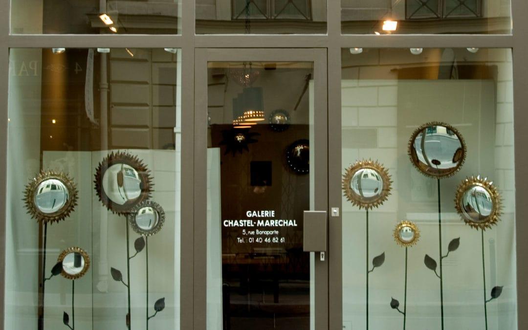 «Miroirs», LINE VAUTRIN, Galerie Chastel-Maréchal, du 10 septembre au 10 octobre 2004