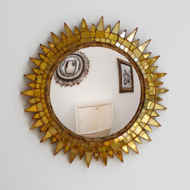 Line Vautrin, Miroir « Soleil à pointes n°3 » (vendu)
