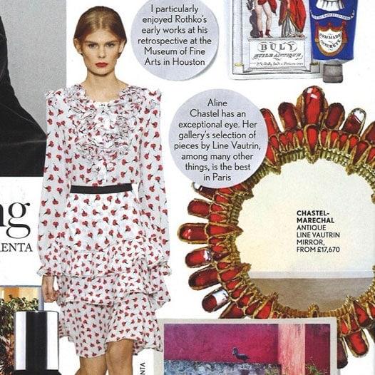 Vogue, Janvier 2015 – «Peter Copping» – Line Vautrin