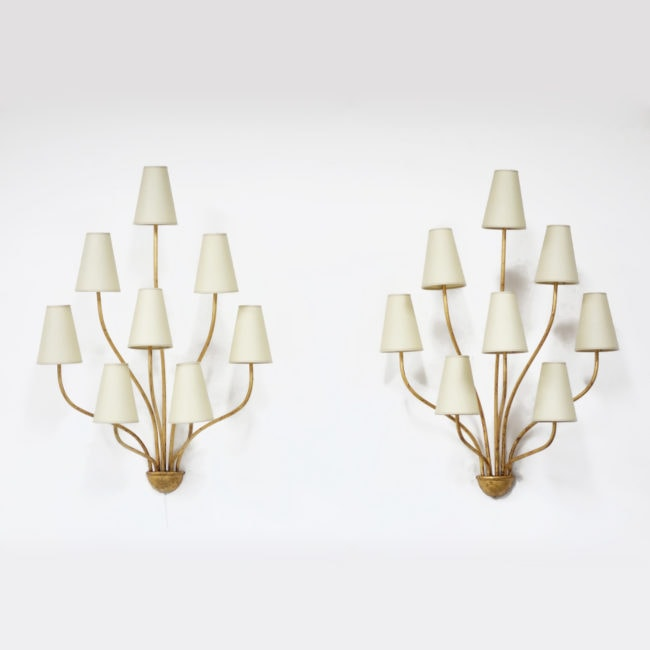 Pair of 'Persane' wall-lights