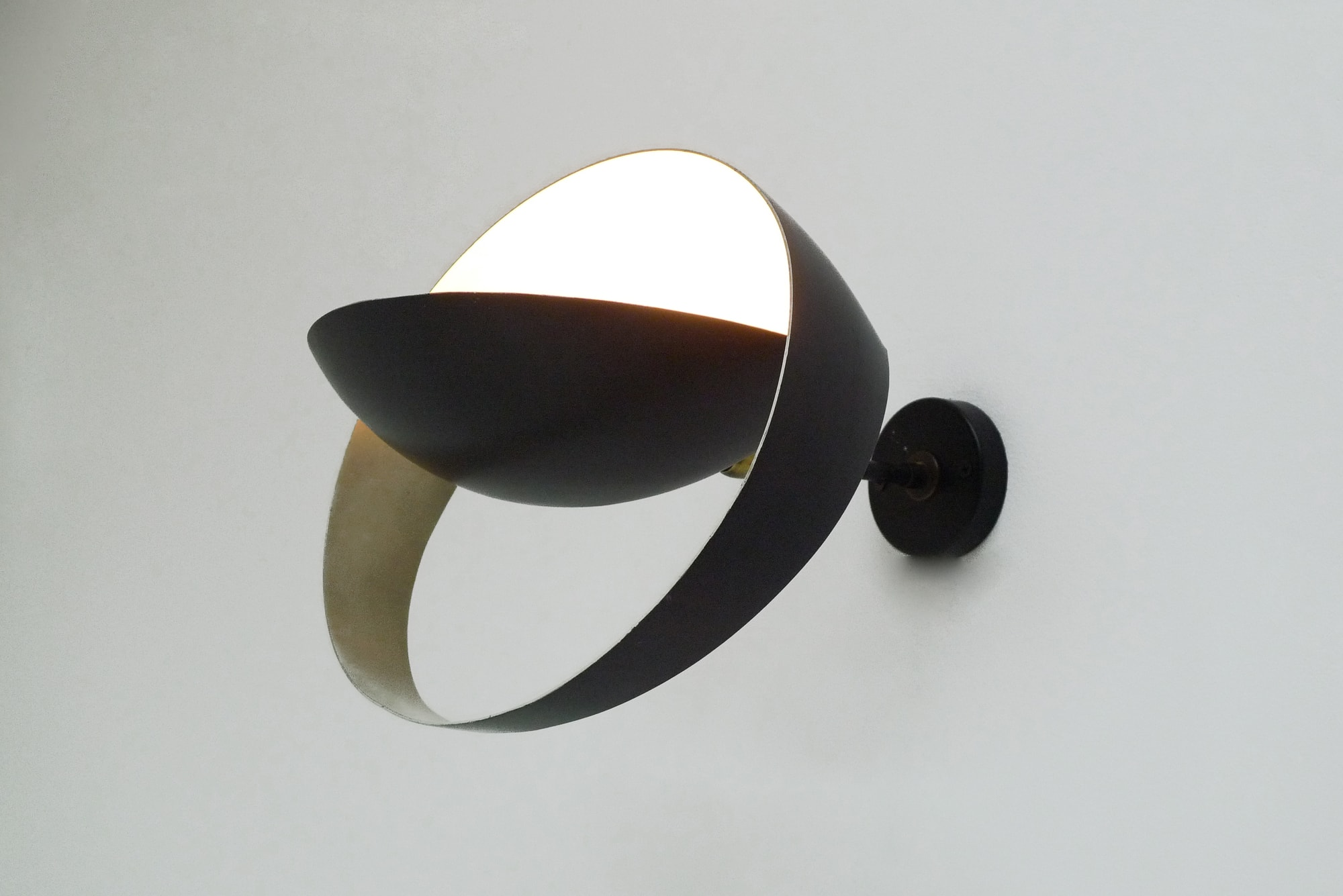 Pair of «Grand Saturne» wall lamps, vue 02
