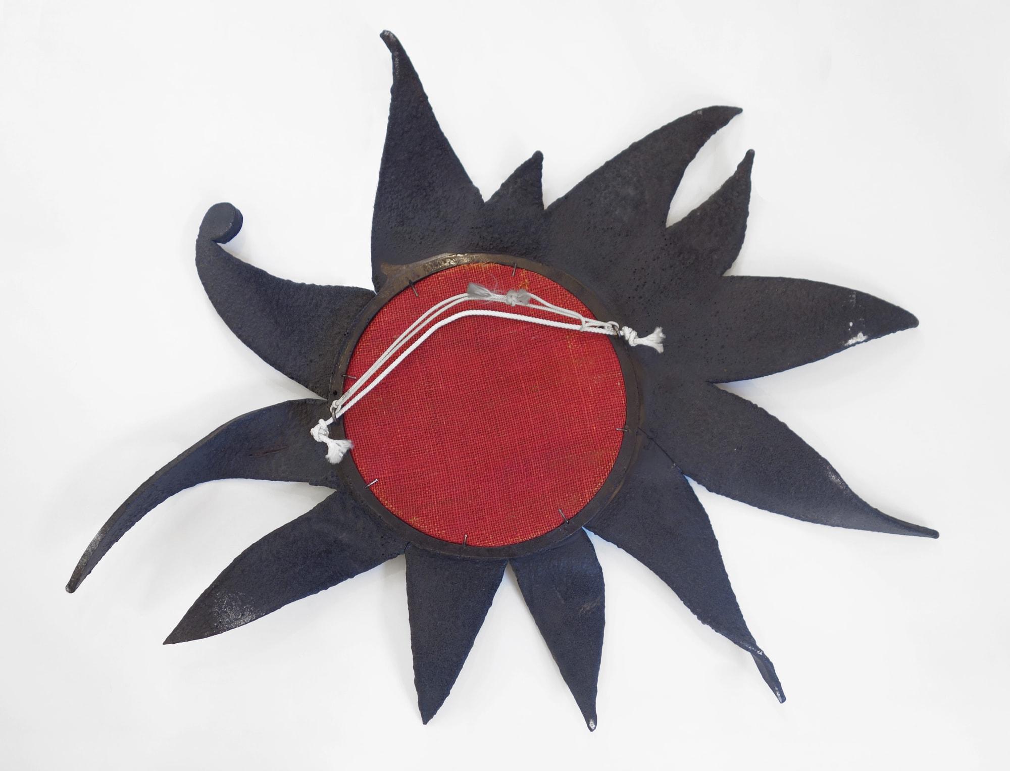 Rare miroir « Folie » ou « Le Soleil a rendez-vous avec la lune », vue 04