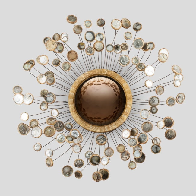 Very rare 'Etincelles' ceiling light