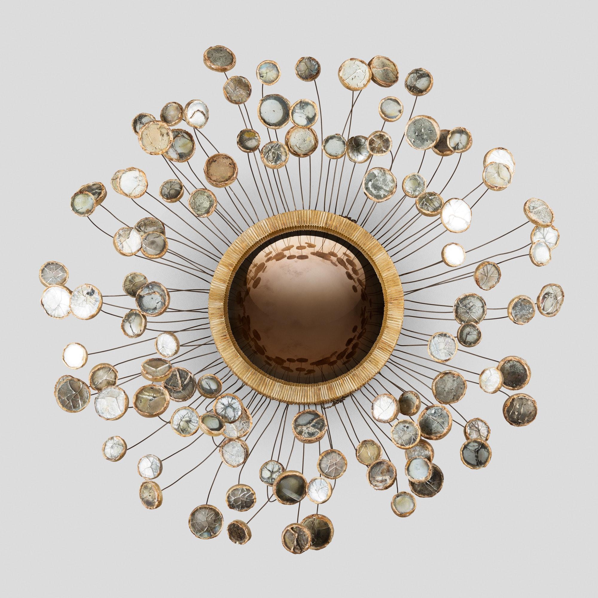 Très rare plafonnier « Etincelles », vue 01
