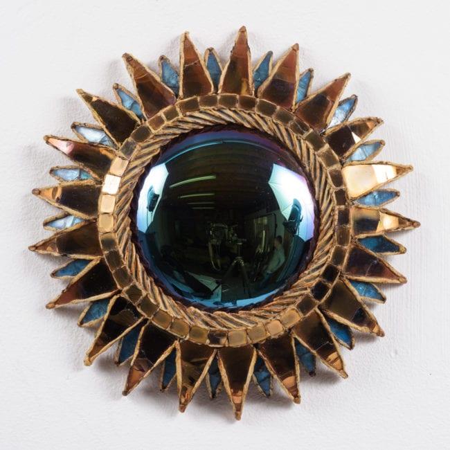 Paire de miroirs «Soleil à pointes n°1»