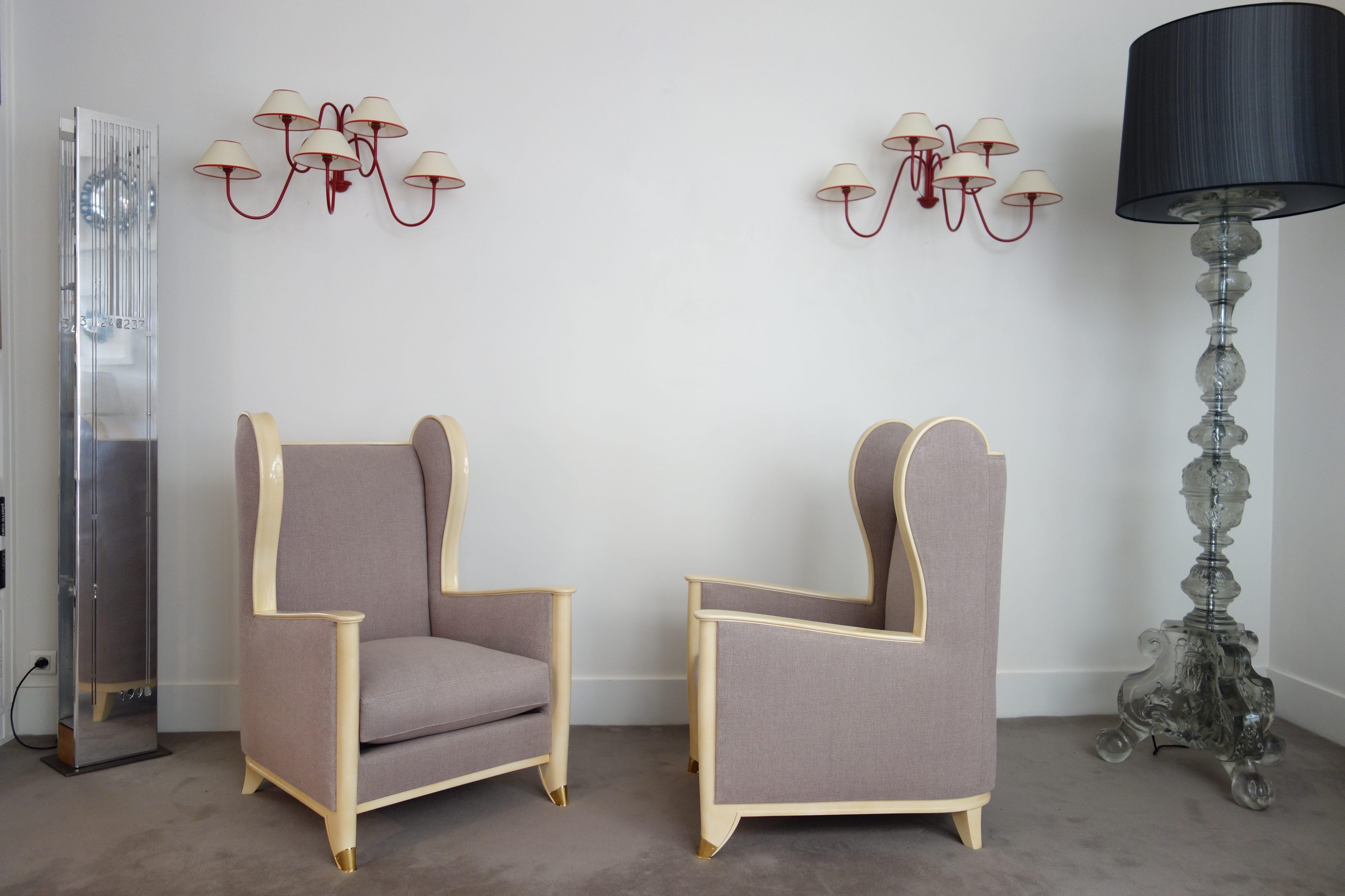 Paire de fauteuils, vue 02