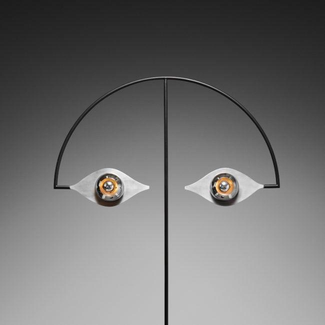 Yonel Lebovici, Rare lampadaire «Les yeux sans visage» (vendu)