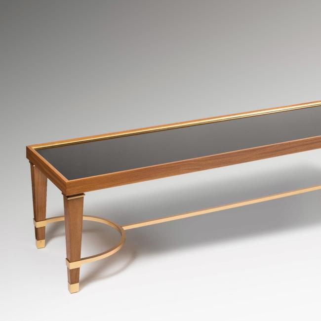 Exceptionnelle table basse réalisée pour le Palais des Consuls de Rouen