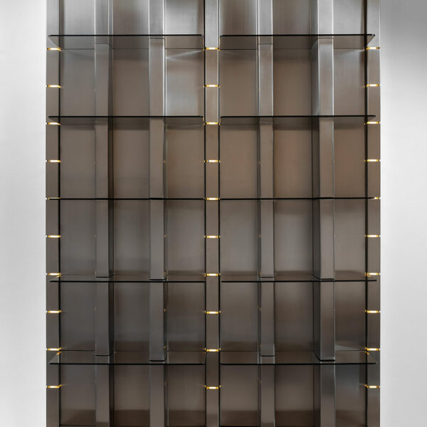 Luminous bookcase