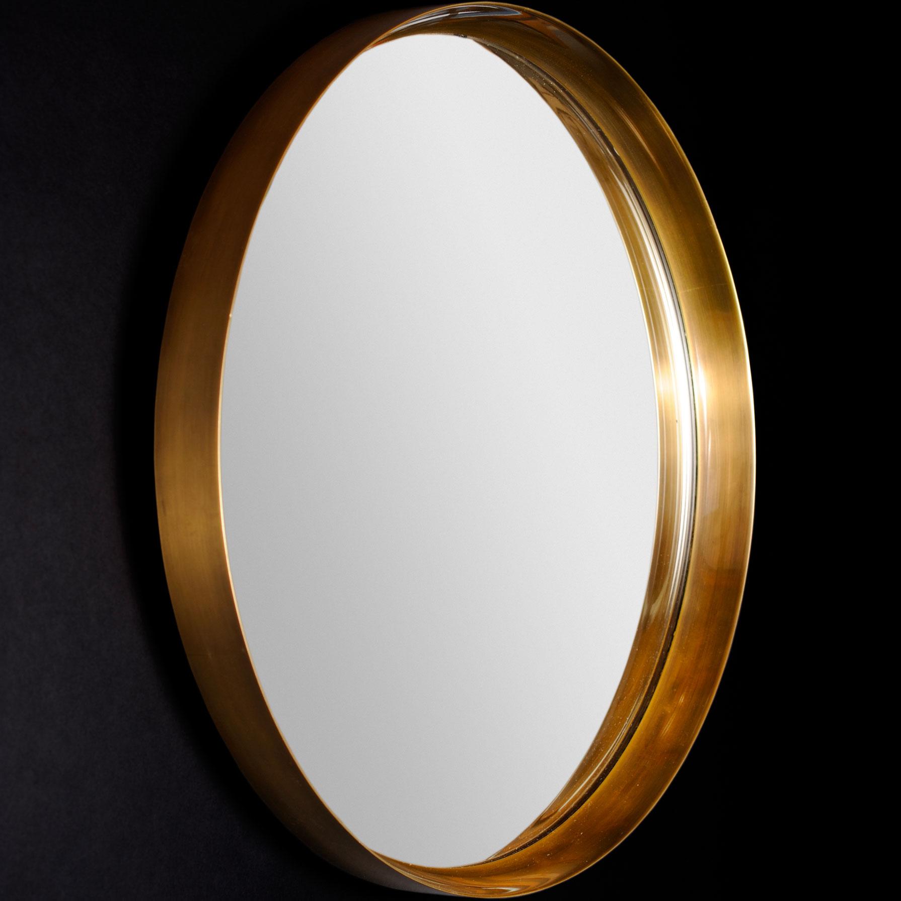 Jacques Quinet, Circular mirror, vue 01