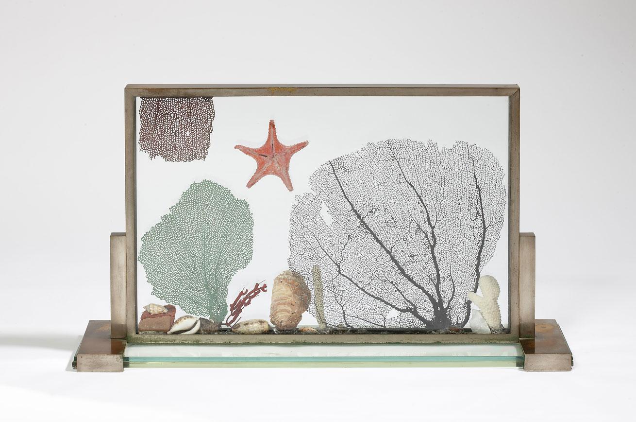 """Fond marin"" display cabinet, vue 01"