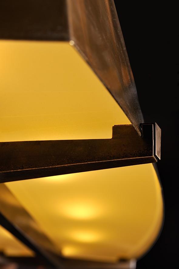 Suspension ovale, vue 02