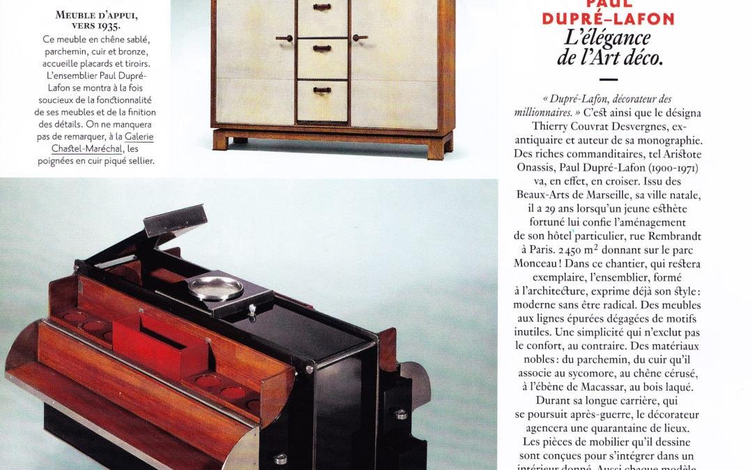 AD, Février/Mars 2015 – «Des maîtres et leurs chefs-d'oeuvre» – Paul Dupré-Lafon
