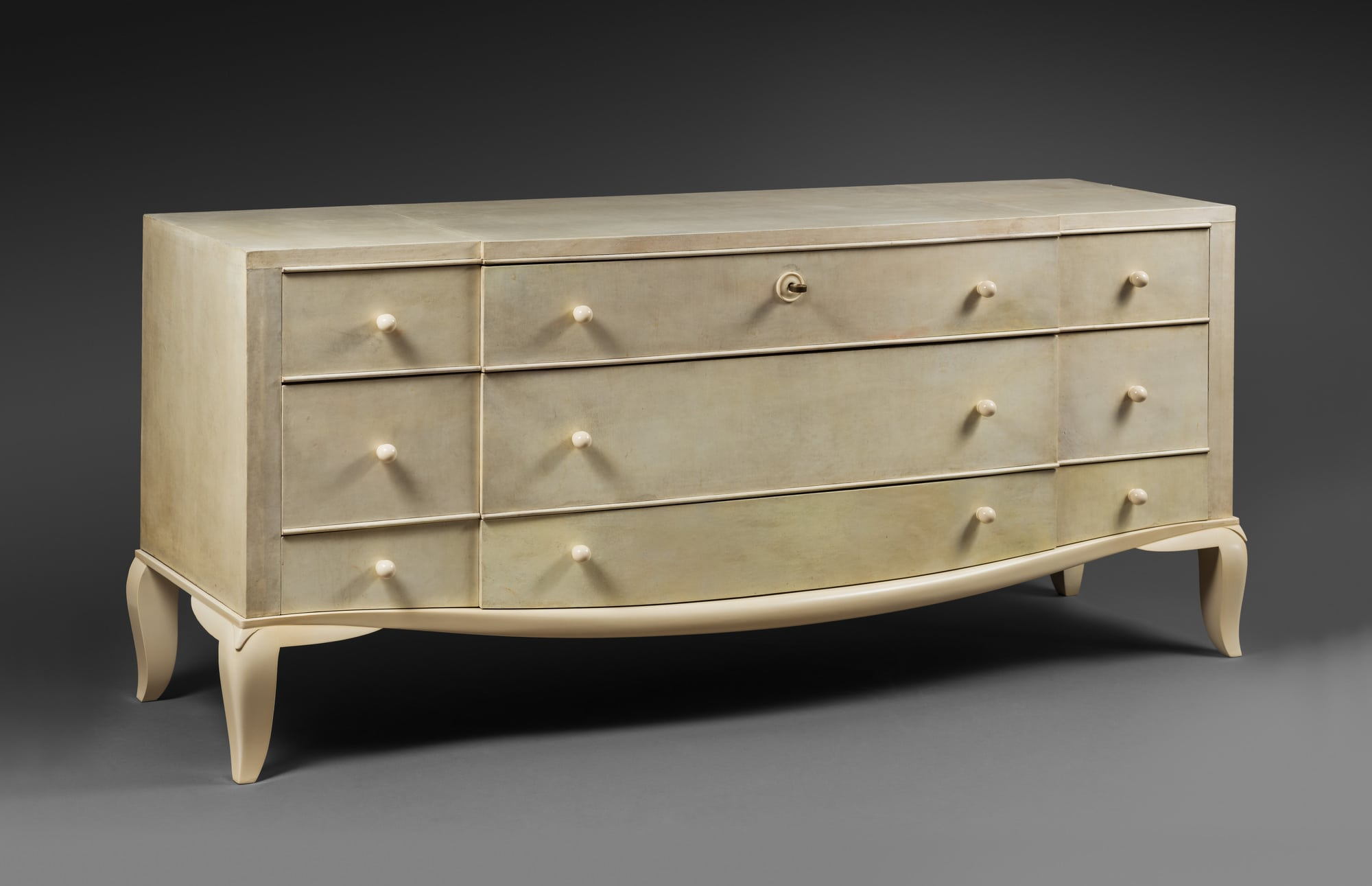 Rare 'pantalonniere' chest of drawers, vue 02