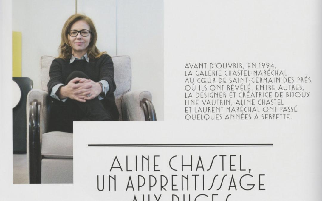 Connaissance des Arts, Juin 2016 – «Aline Chastel, un apprentissage aux Puces»