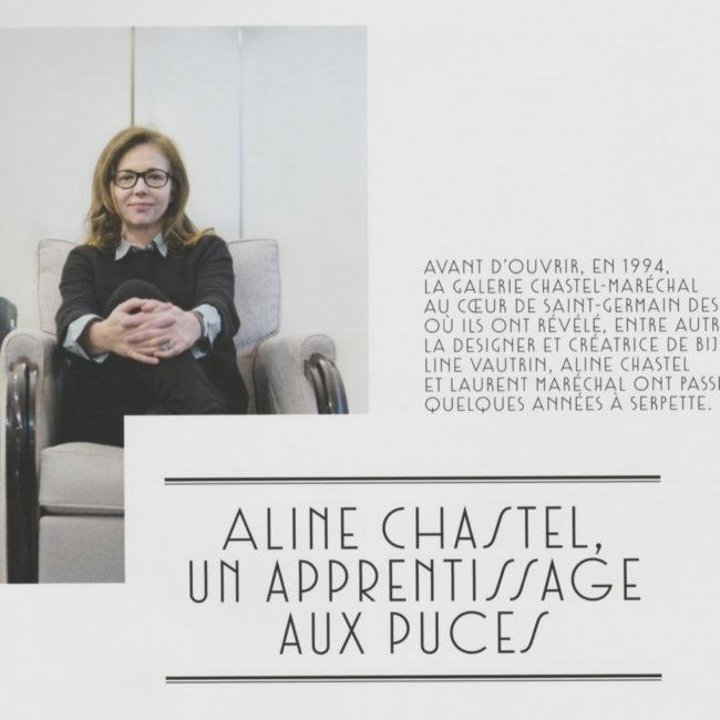Connaissance des Arts, Aline Chastel