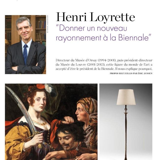 L'éventail, Henri Loyrette