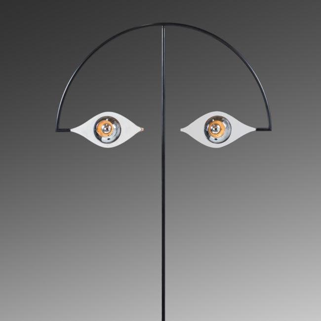 Lampadaire «Les Yeux sans Visage»