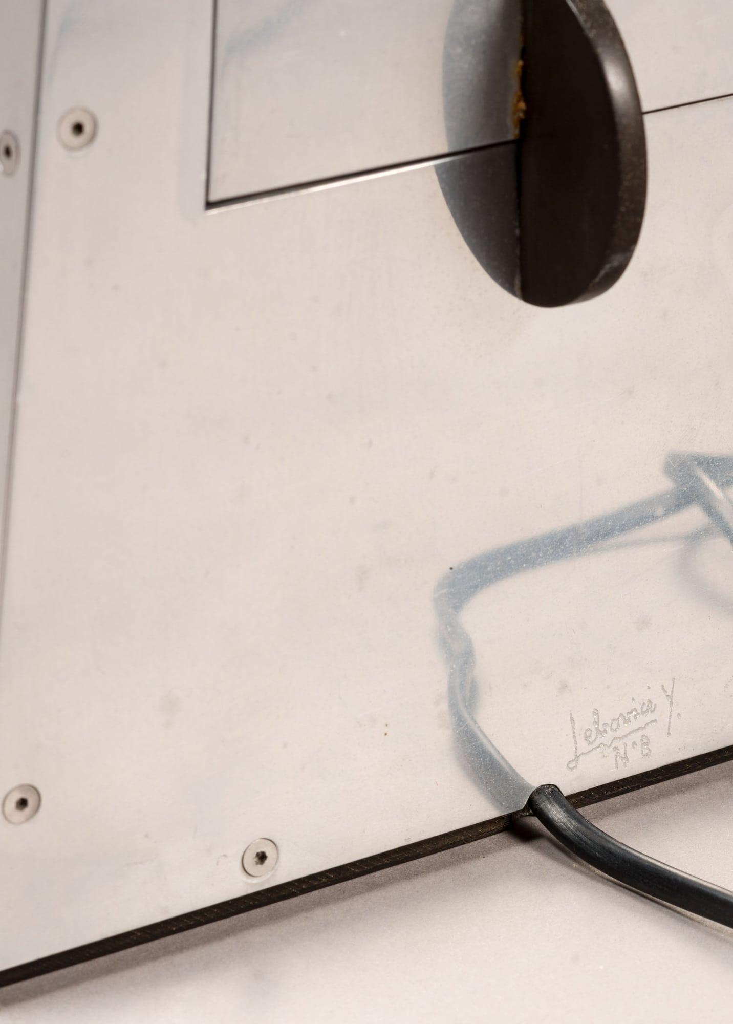 Lampe «Métronome», vue 02